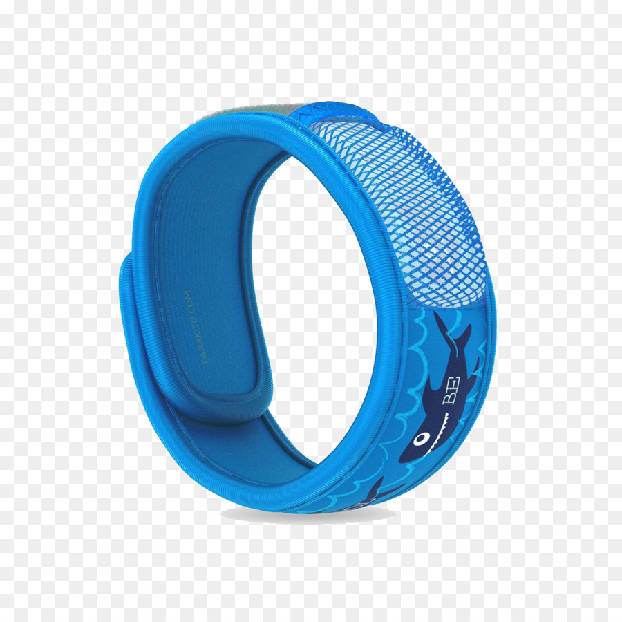 Mosquito Bracelet Anti Moustique Wristband Shark Edition 1200 Transp Png Free Blue Aqua Electric