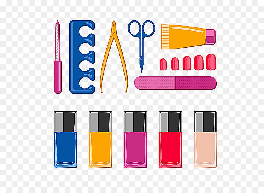 Nail polish Manicure Pedicure - Nail Art Tool png download - 650*650 ...