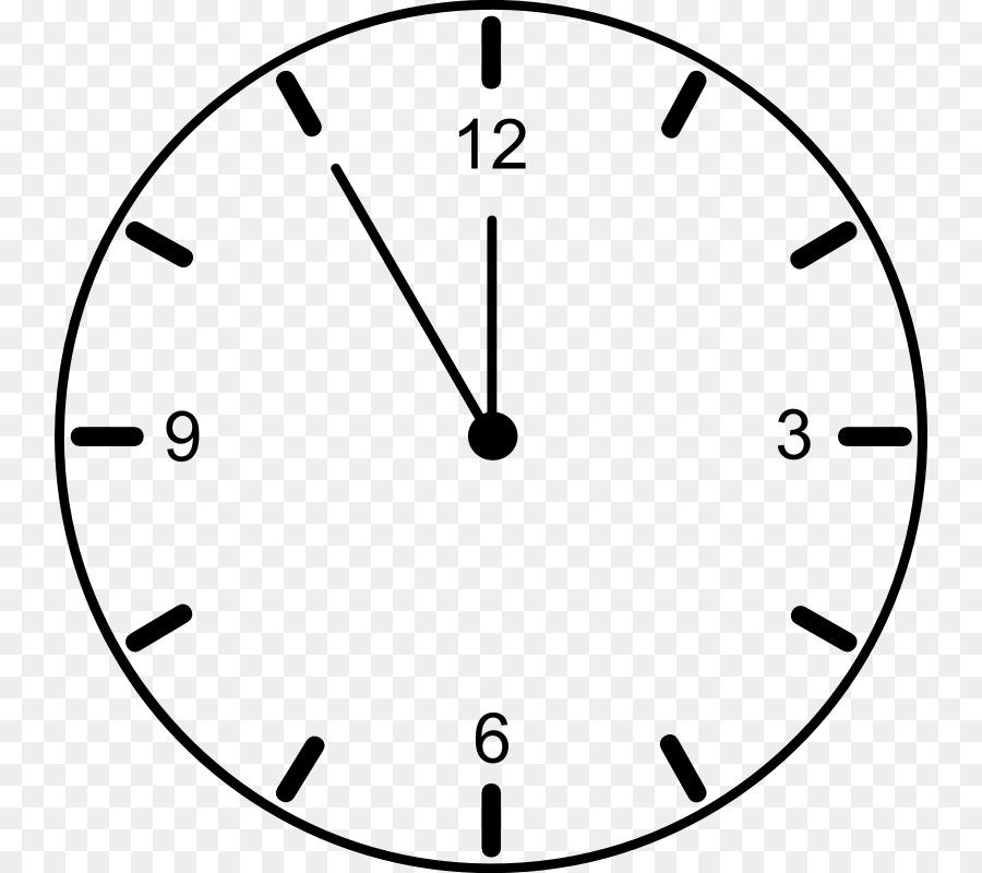 La cara del reloj reloj de Cuco Clip art - En Blanco Reloj De La ...