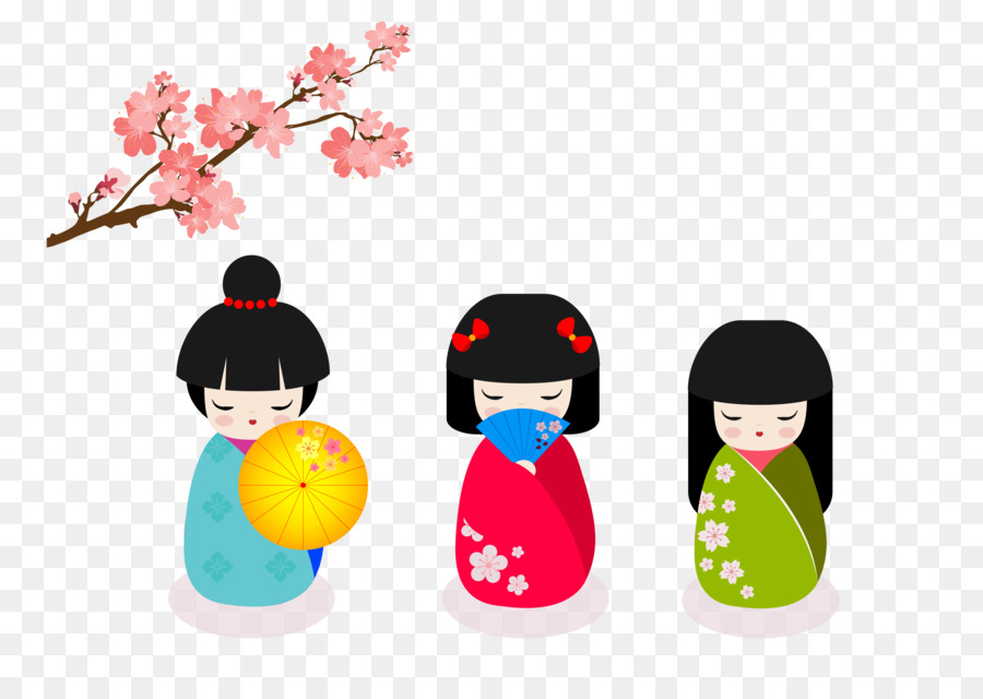 Japan china doll greeting card japanese doll download png download japan china doll greeting card japanese doll download m4hsunfo