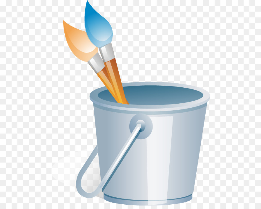 painting painters paint bucket tool vector material png download