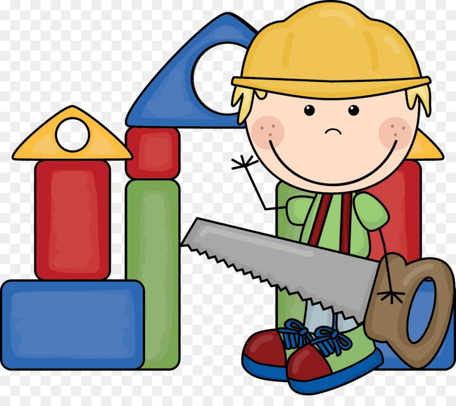 Building Child Toy Block Clip Art