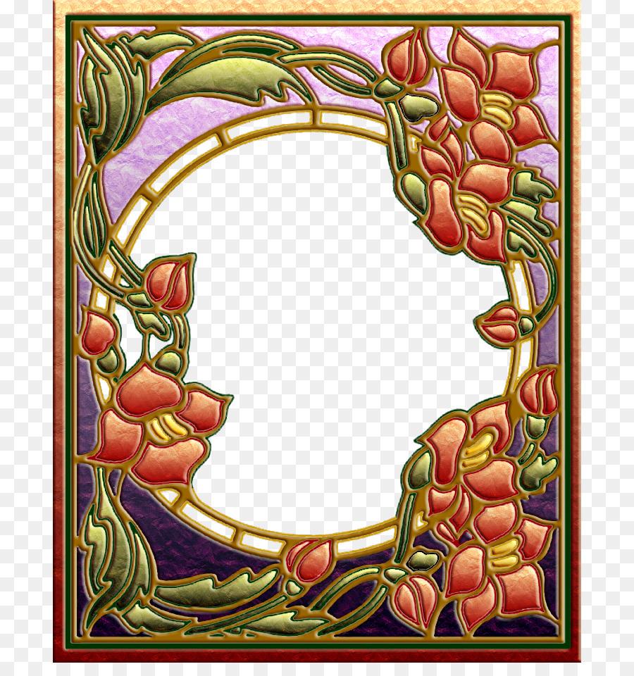 Art Nouveau Art Deco Clip art - Art Nouveau Frame png download - 750 ...