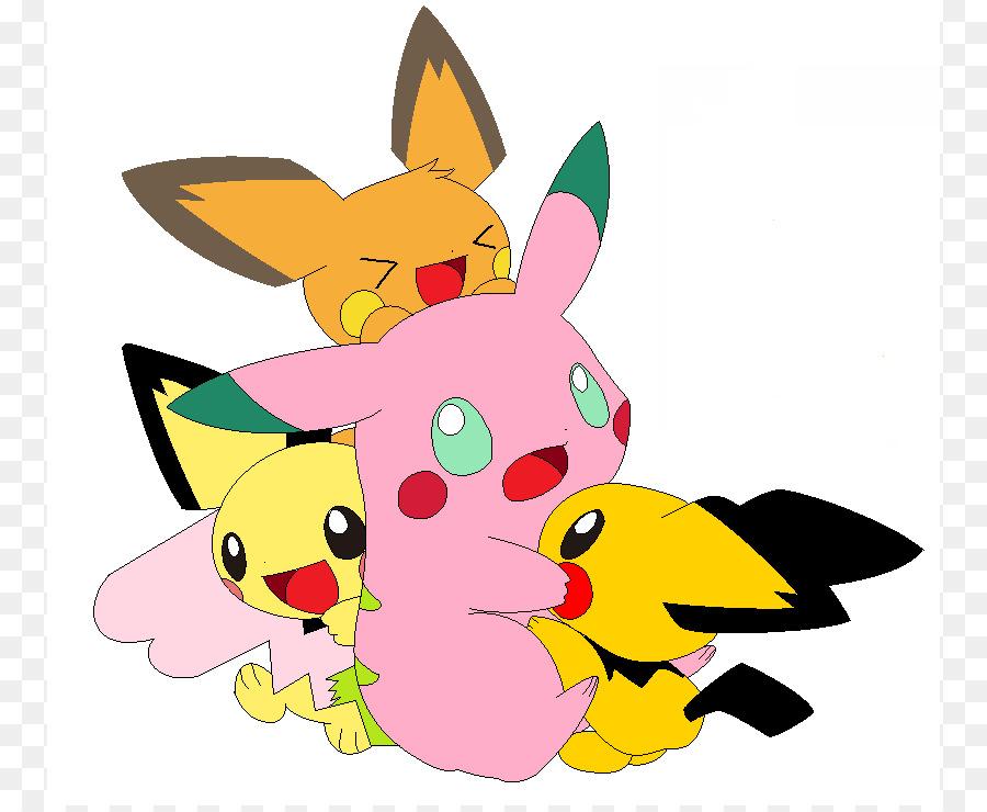 Pikachu Pichu Raichu Clip Art   Baby Sitter Picture
