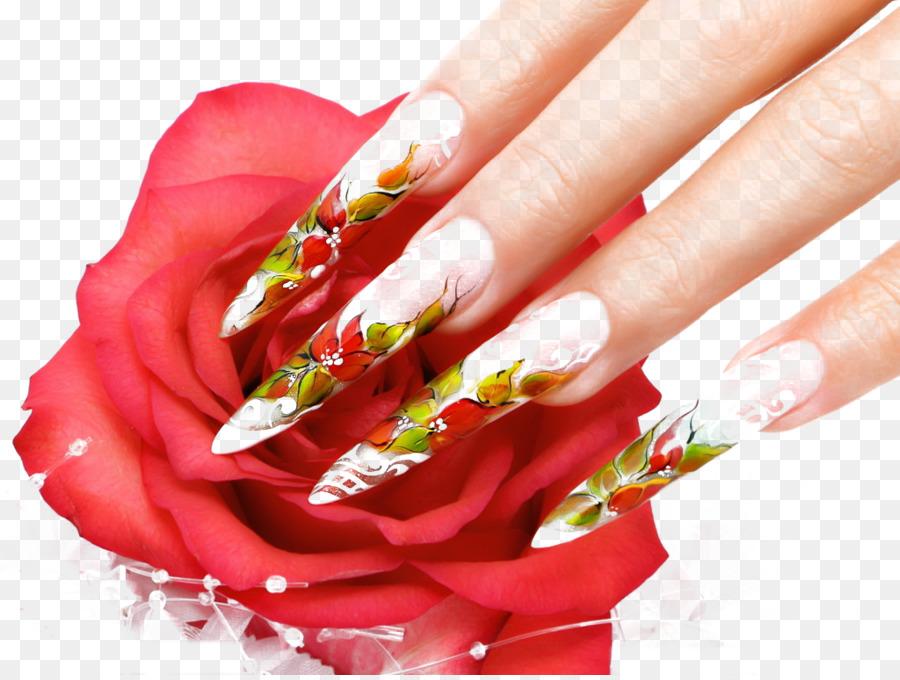 Nail Art Nail Polish Manicure Beauty Parlour European Nail Png