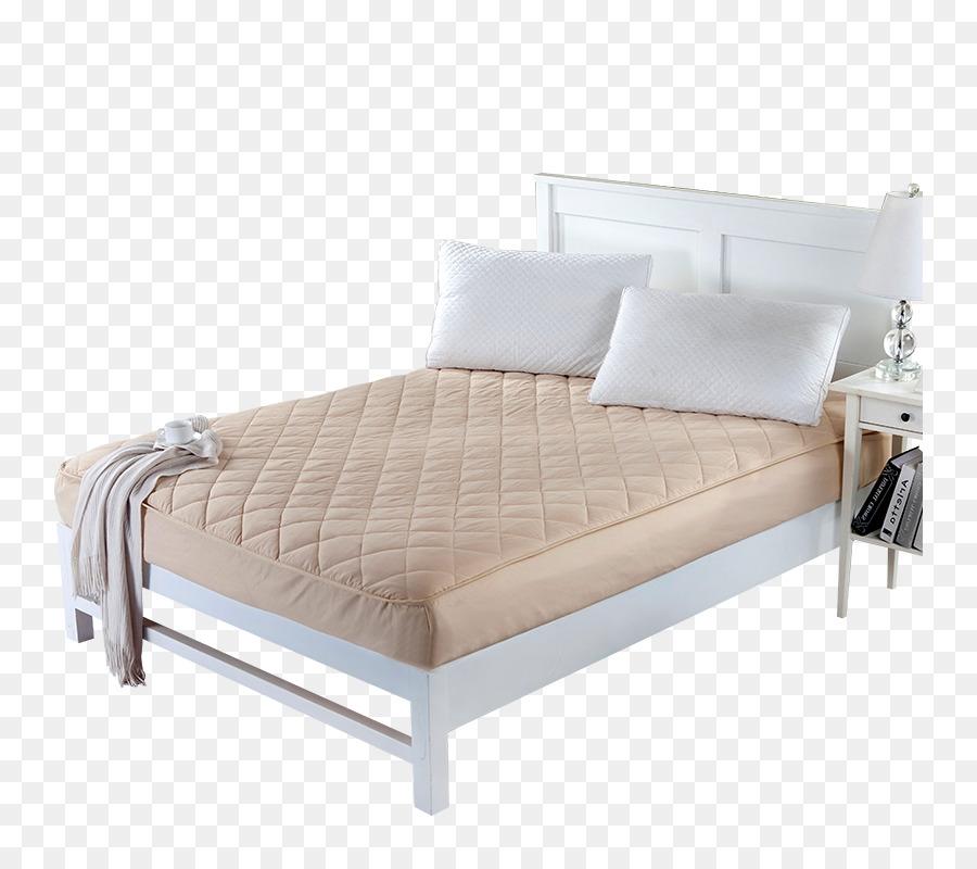 Marco de la cama de Colchón de la Cama de la hoja de Madera - Real ...
