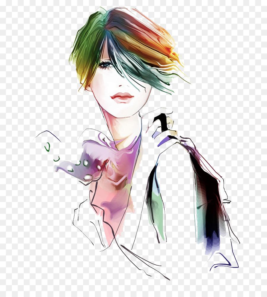 Woman cartoon illustration girls