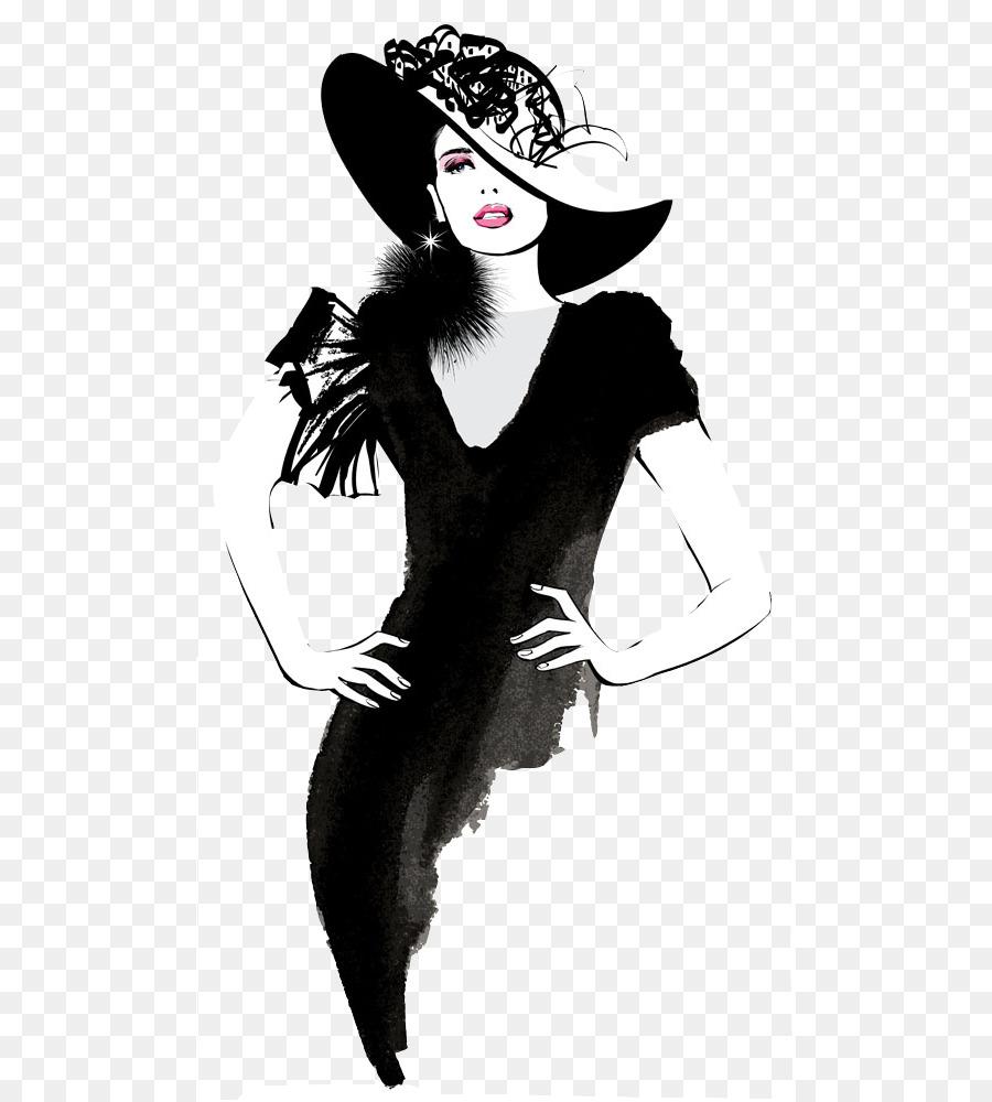 fashion model clip art hand painted fashion woman png download rh kisspng com fashion clipart illustrations fashion clipart ai