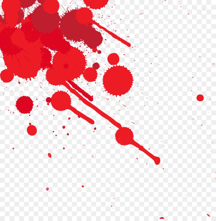 Blood Splatter Film Clip Art Dots Splashed With Blood