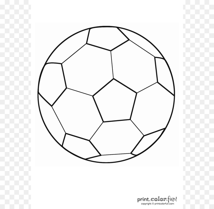Coloring book Football Nike Kick - Soccer Ball Outline png download ...