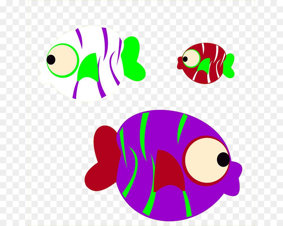 Peces de colores Clip art - Lindo color de dibujos animados de ...