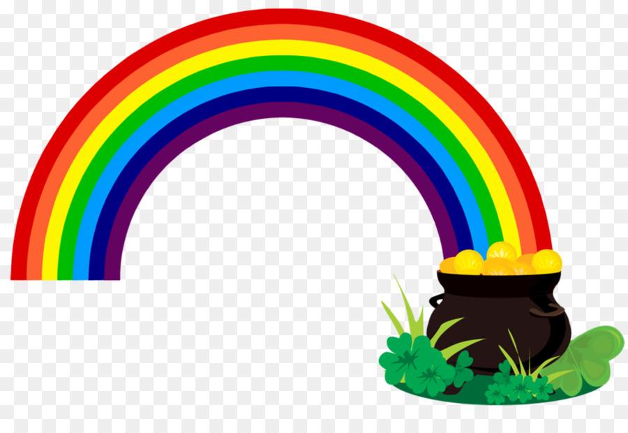 pot of gold rainbow leprechaun clip art pot of gold picture png rh kisspng com
