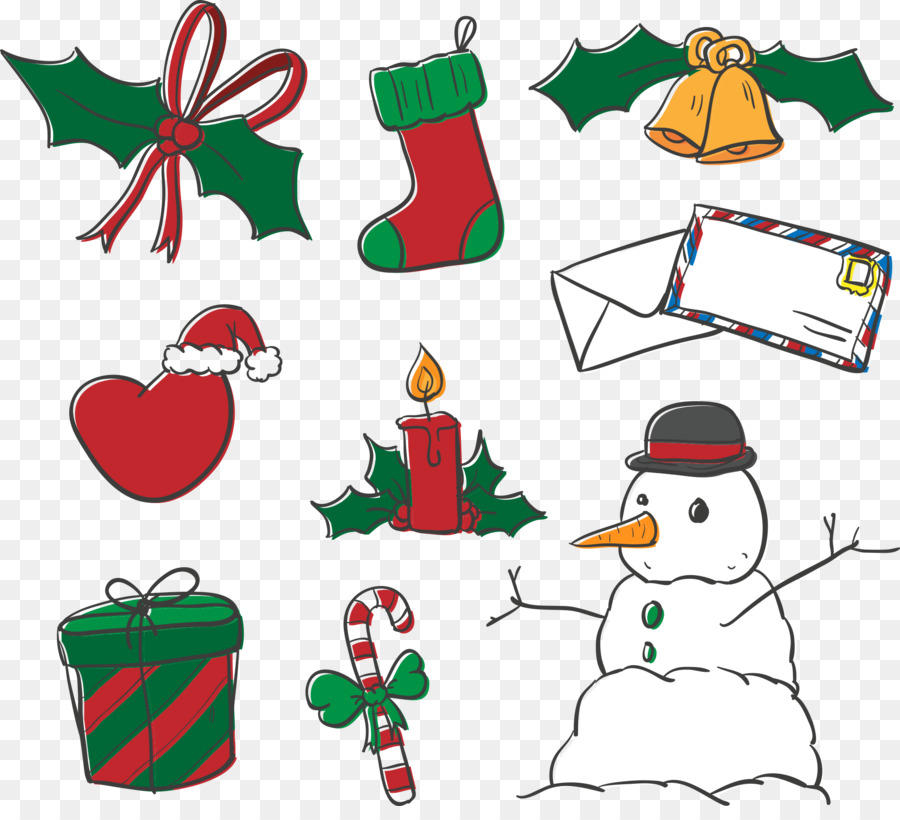 Christmas Decorations Png.Christmas Decoration Cartoon Png Download 1898 1700 Free