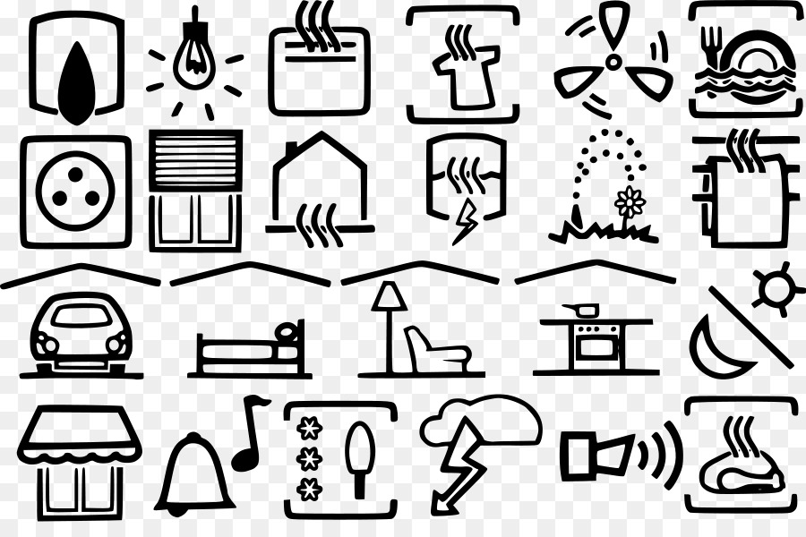 Electricity Electronic symbol Electrical engineering Clip art ...