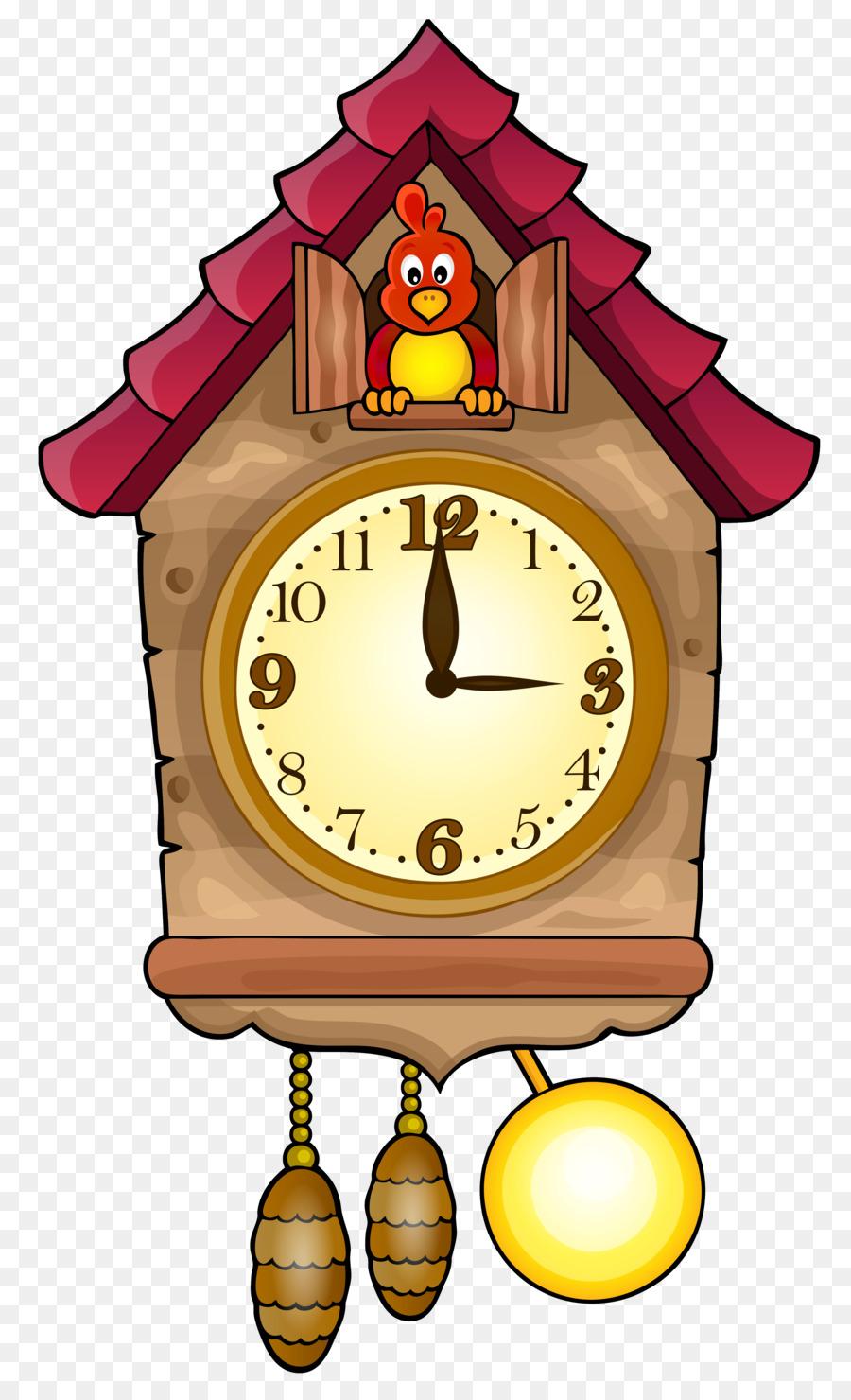 Cuckoo clock Clip art - Home Accessories Cliparts png download ...