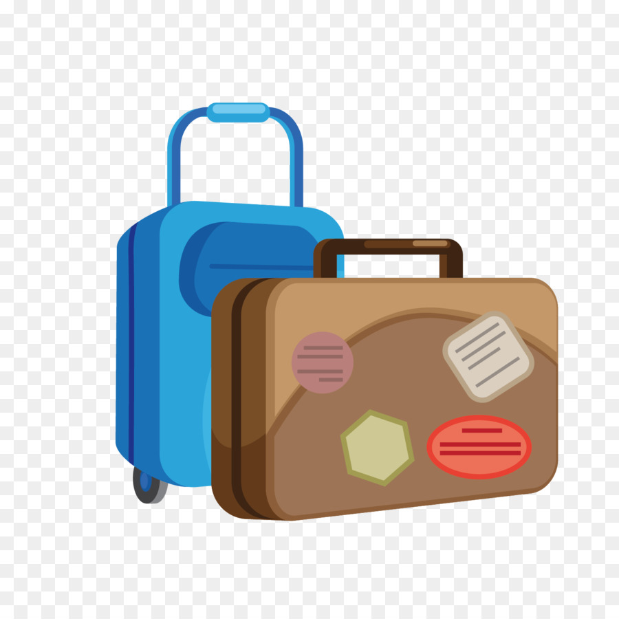 suitcase vector material pattern outbound travel global vacation