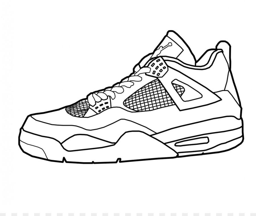 Air Jordan libro para Colorear de Zapatos de Nike Zapatillas de ...