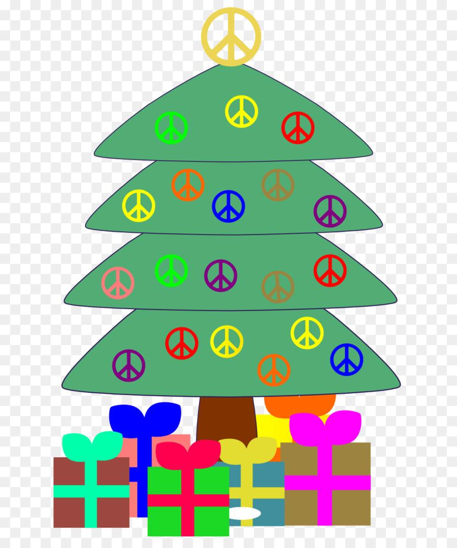 Christmas In Art Peace Symbols Christmas Tree Clip Art Tr Cliparts