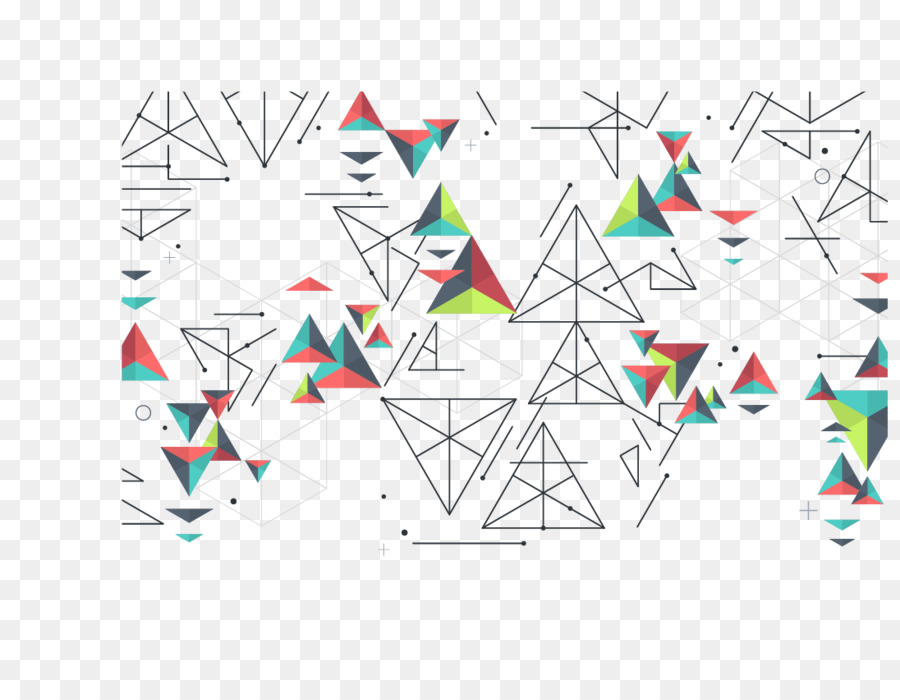 Triangle Geometry   Vector Triangle Geometric Background