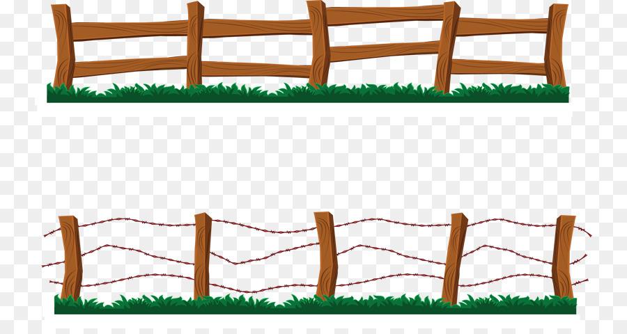 Picket fence Free content Split-rail fence Clip art - Backyard ...
