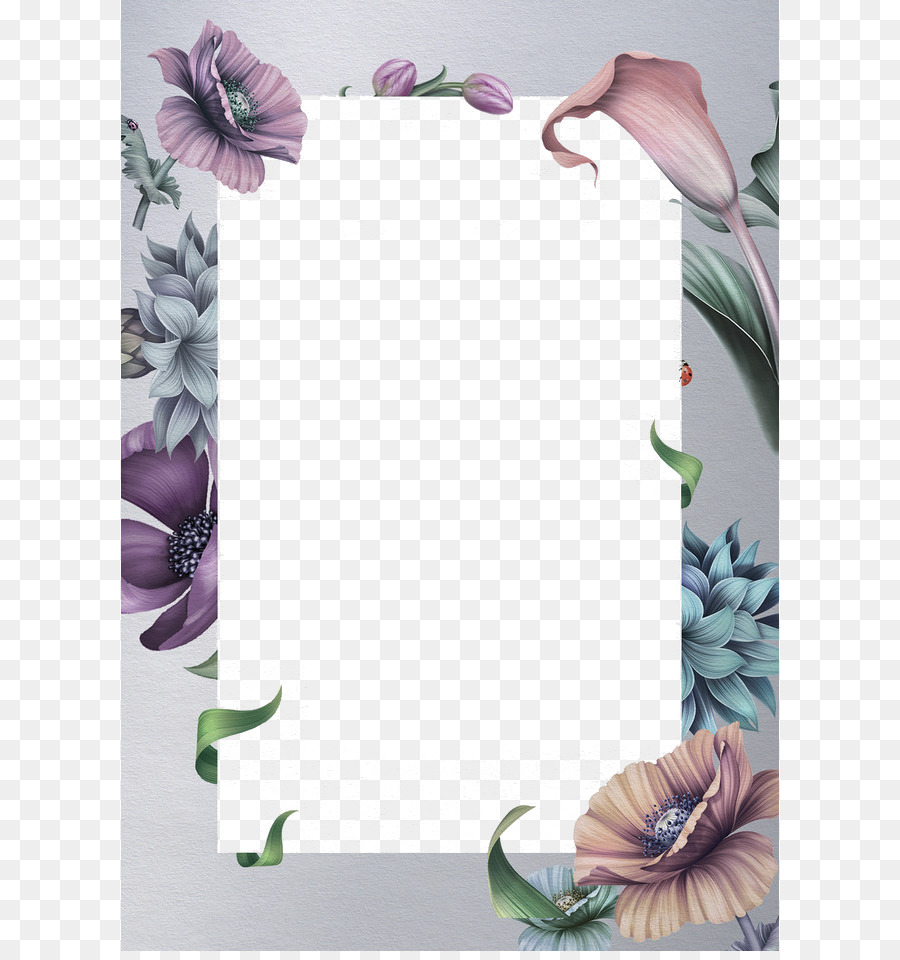 Wedding Invitation Advertising Greeting Card Pattern Border Png