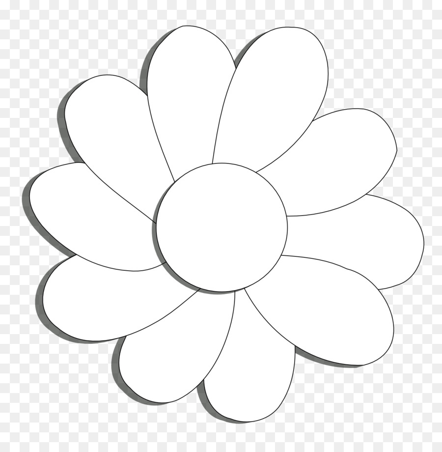 Coloring Book Scalable Vector Graphics Clip Art Daisy Flower