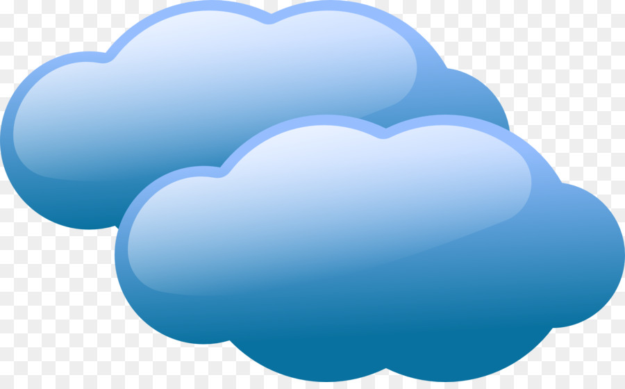 Cloud-computing-Kostenlose Inhalte-clipart - blau Wolken png ...