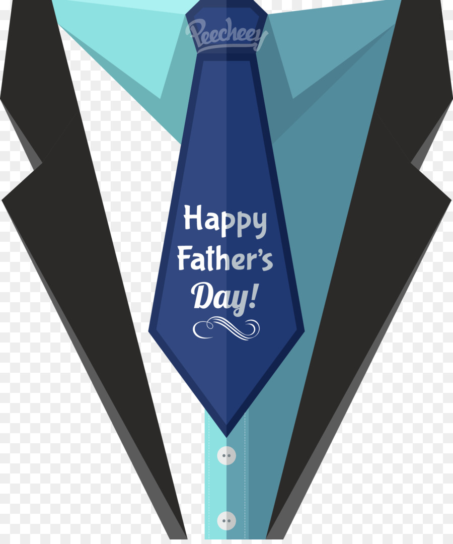 Fathers Day Wedding invitation Greeting card - Vector suit png ...
