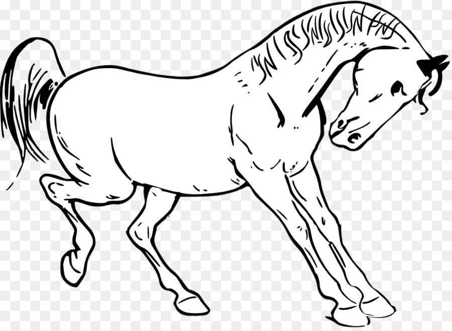 Tennessee Walking Horse Show Jumping Clip Art