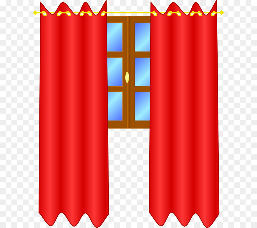 Bedroom Decor With Red Curtains