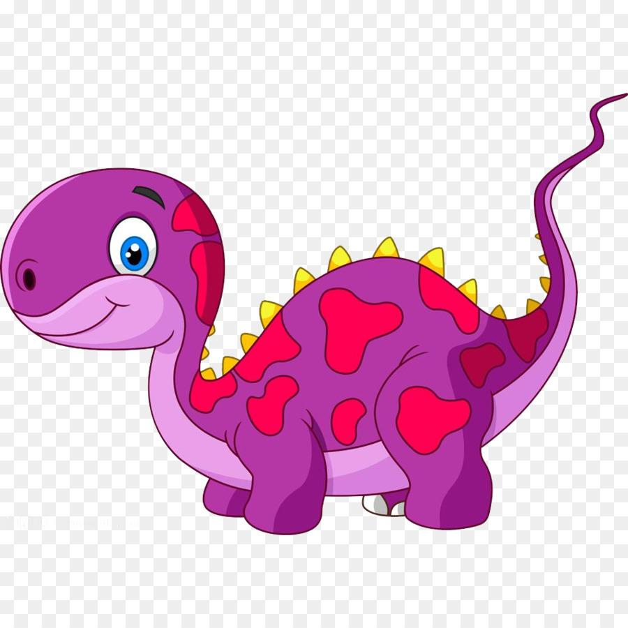 Tyrannosaurus Dinosaurier Cartoon Illustration Niedliche Cartoon