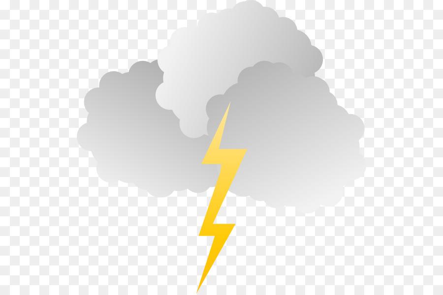Cloud Lightning Storm Sky