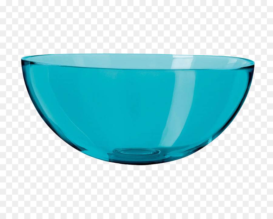 Bowl Glass Material Blue Kitchenware