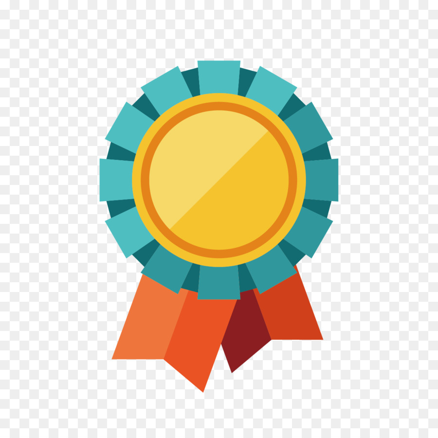 Trophy Medal Icon - Flat award prizes element png download ...