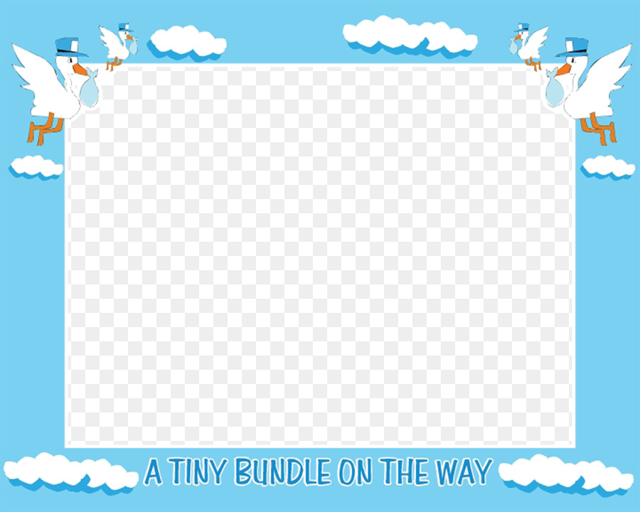 Printable Baby Boy Borders