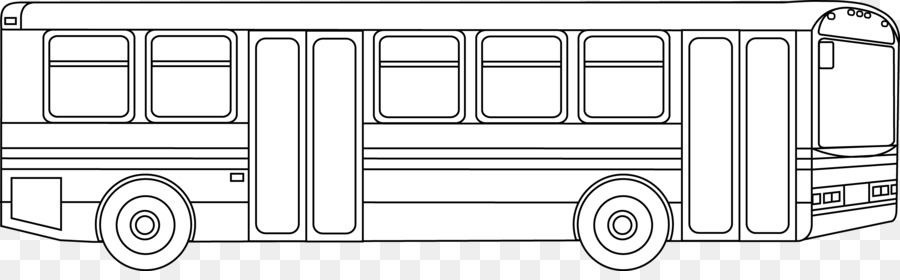 Angkutan Bus Buku Mewarnai Bus Sekolah Halaman Bus Kota Cliparts