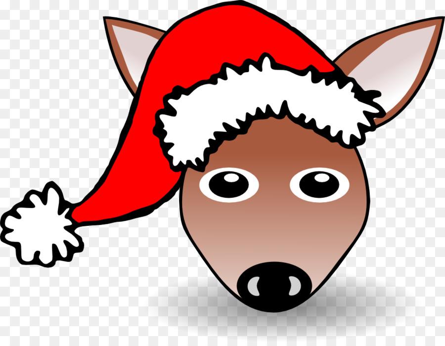 Christmas Hat Cartoon Transparent.Cartoon Christmas Hat Png Download 999 769 Free