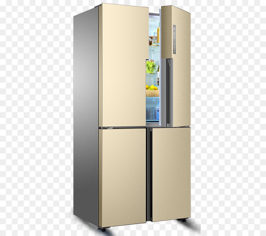 Refrigerator Haier Home Appliance Washing Machine   Half Open Gold Four Door  Refrigerator