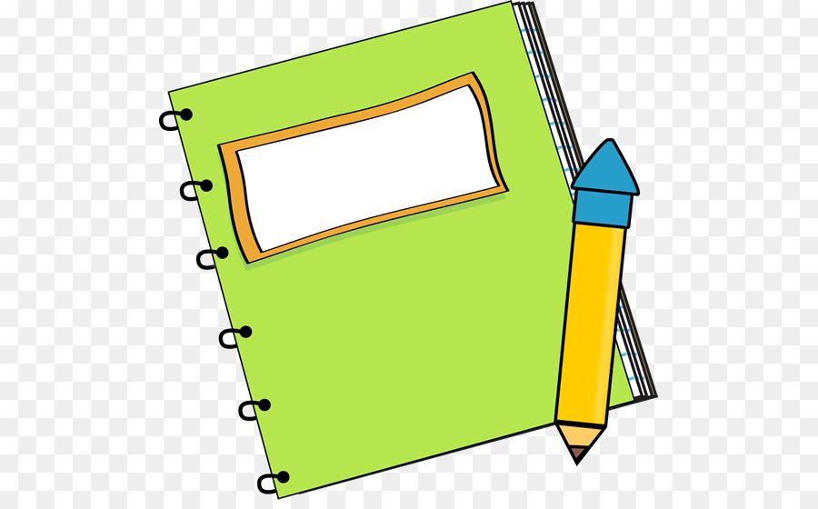 Paper Notebook Pencil Clip Art Notebook Transparent Cliparts Png
