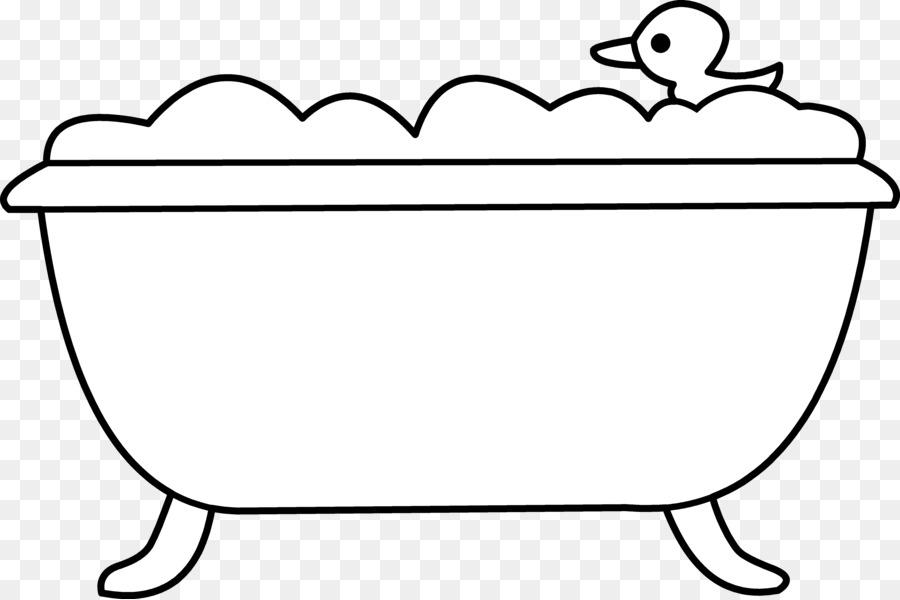Bathtub Bathroom Bubble bath Clip art - Tub Cliparts png download ...