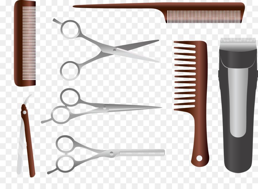 Comb Euclidean Vector Hairdresser Hairdressing Equipment