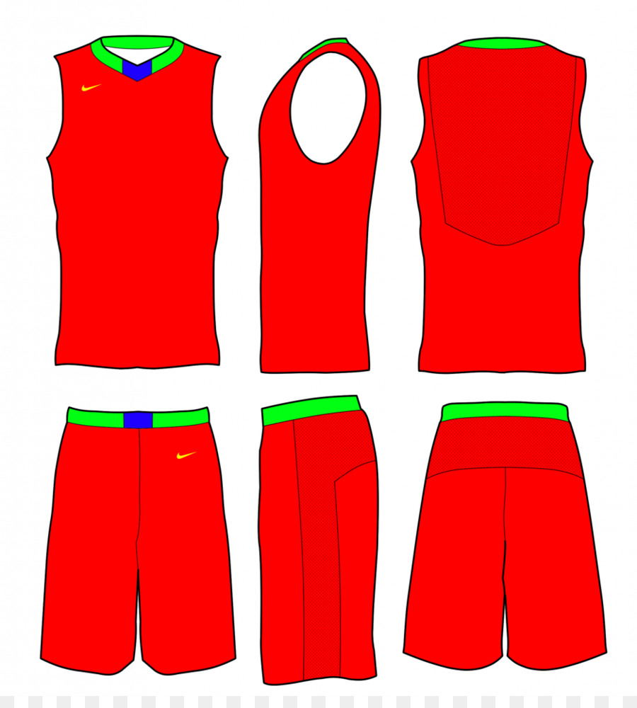 e066fb012f1 Basketball uniform Template Jersey - Nike Basketball Cliparts png ...