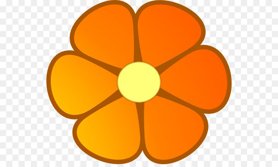 flower orange blossom clip art orange flowers cliparts png rh kisspng com Red Flower Clip Art Pink Flower Clip Art