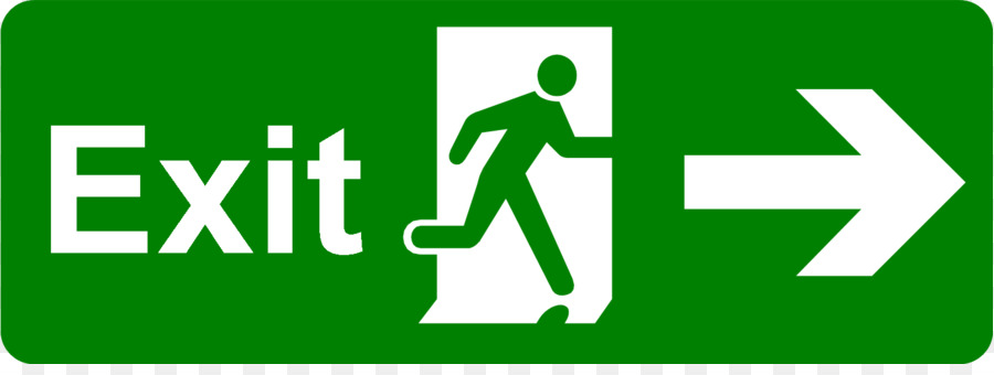 exit sign emergency exit safety signage exit signs pictures png