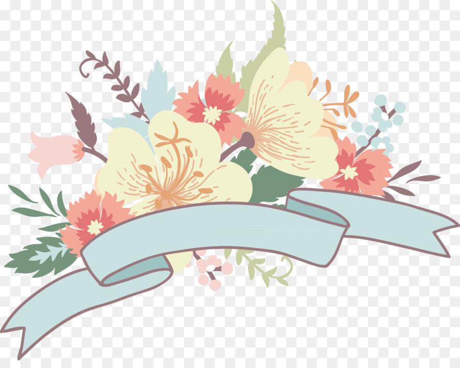 Wedding invitation Lovebird Flower bouquet - Japanese decorative ...