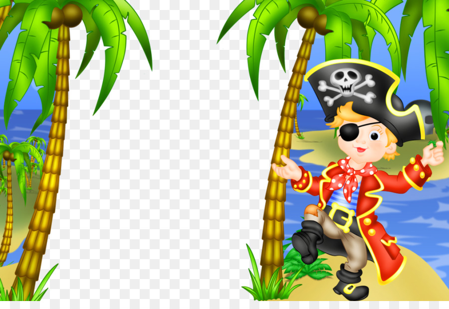 Picture frame Piracy Child Clip art - Pirate Frame Cliparts png ...