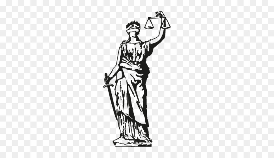lady justice clip art blind justice tattoo png download