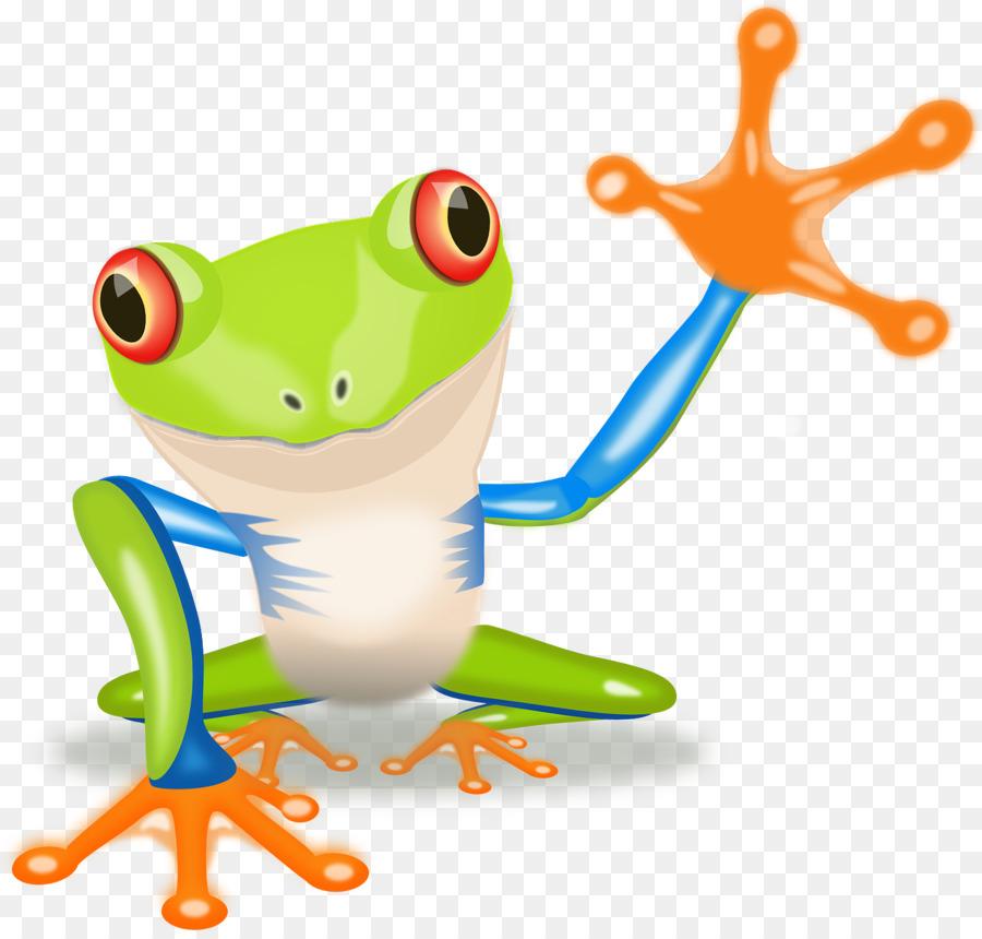 red eyed tree frog australian green tree frog clip art cartoon rh kisspng com Dancing Tree Frog tree frog cartoon drawing