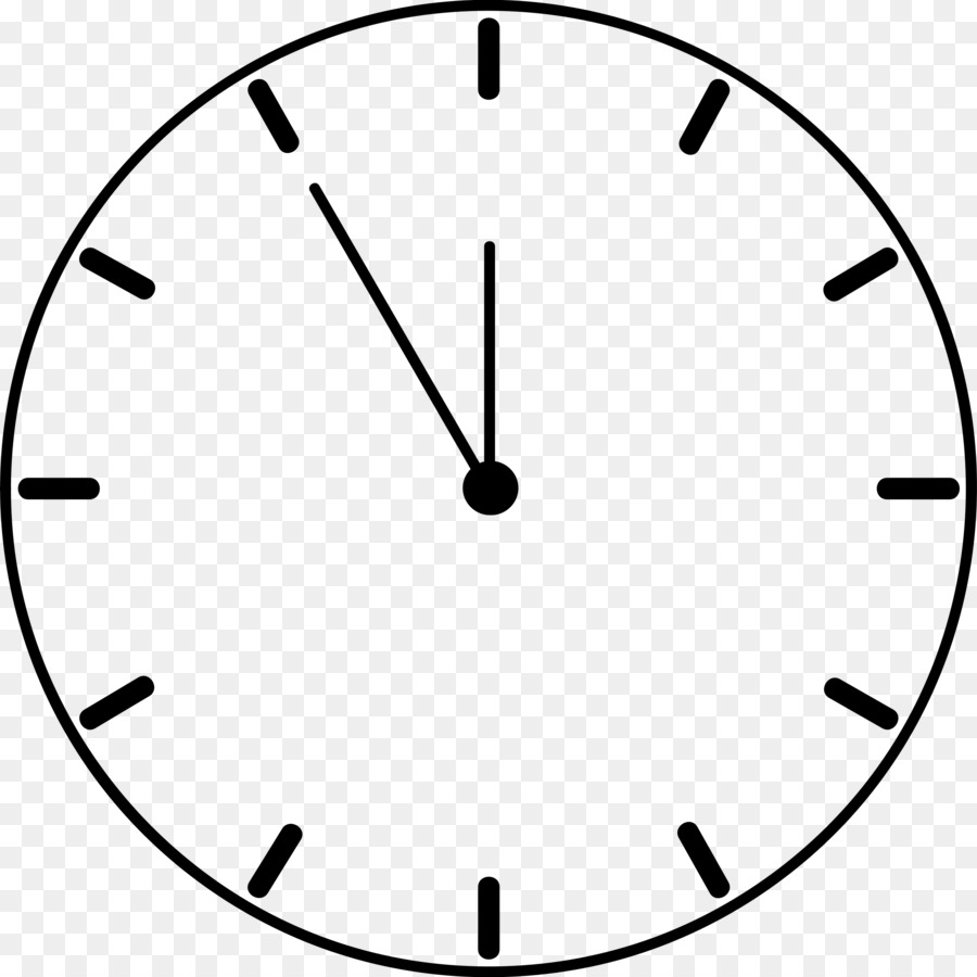 Clock Face Digital Clip Art