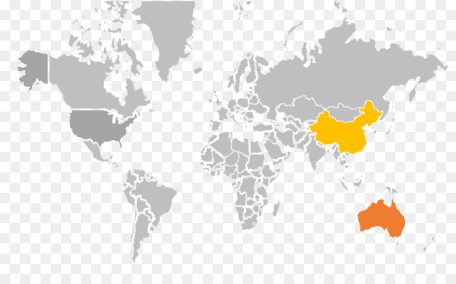 United States Brazil Canada Guatemala Bolivia - world map png ...